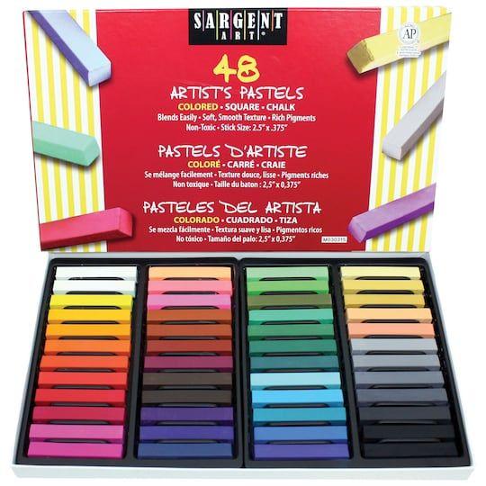 Sargent Art Artist Square Pastels 48 Pieces Michaels