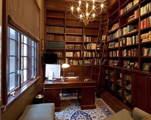 Ideas For Home Office Library Home Library Design Home