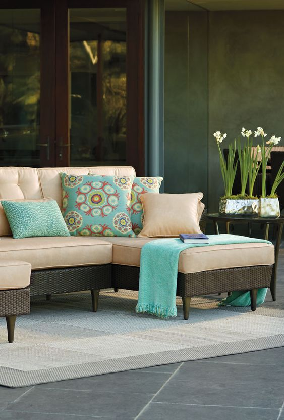 Beautiful Outdoor Furniture Sets From FrontGate Modern interior design