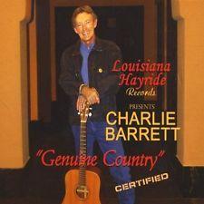 BARRETT, CHARLIE-LOUISIANA HAYRIDE RECORDS PRESENTS-CD  NEW