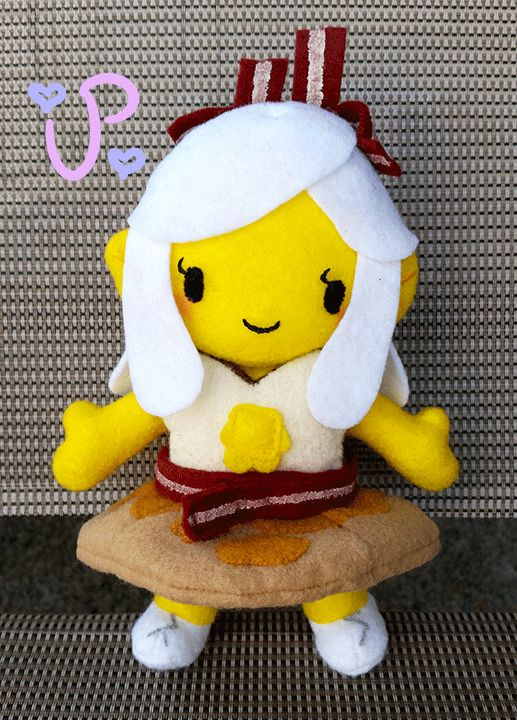 The Most Important Princess of the Day by UltraPancake.deviantart.com on @DeviantArt #breakfastprincess #adventuretime #plushie #fanart