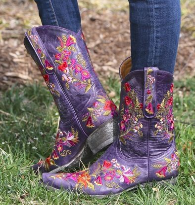 Shop the Old Gringo Jasmine Violet Boots L1286-14 at Rivertrail Mercantile.  Enjoy fast and free shipping on all Old Gringo Boots.: