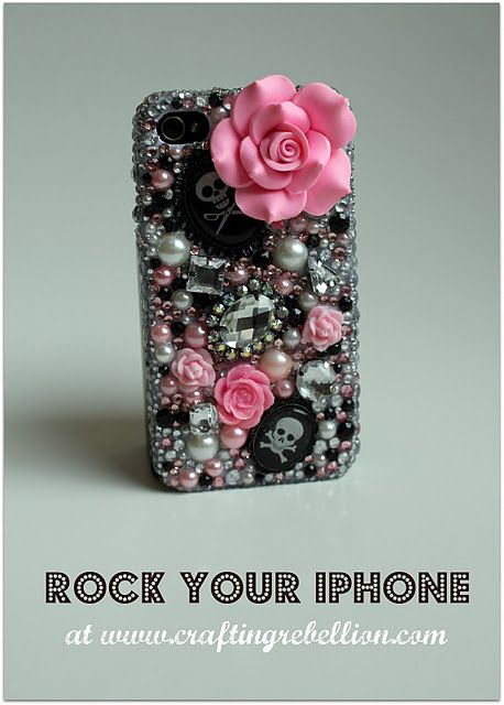 Bling-Out Your Phone - {Tutorial}