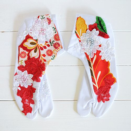 pretty TABI(足袋)ーJapanese Socks