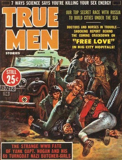 Vintage Men's Pulp Magazine Covers | Vintage Men's ...