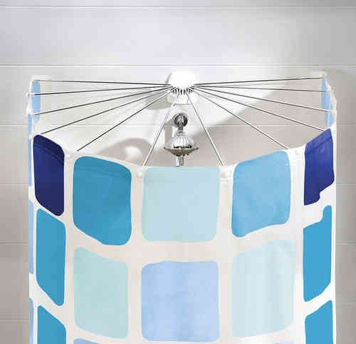 Kleine Wolke Universalstange f/ür Dusche oder Badewanne /Ø 25 mm Farbe Chrom 3 Gr/össen