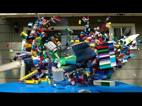 Lego Plane Crash in Slow Motion - The Slow Mo Guys http://www.flickr.com/photos/143262846@N03/28385313473/