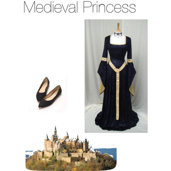 Medieval Princess by georgiamcmorris on Polyvore featuring polyvore, fashion and style