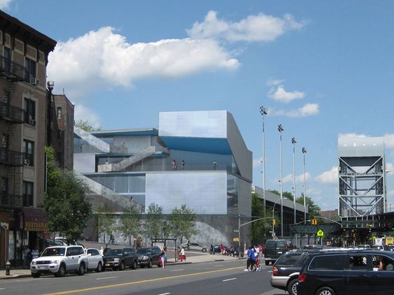 STEVEN HOLL ARCHITECTS - CAMPBELL SPORTS CENTER