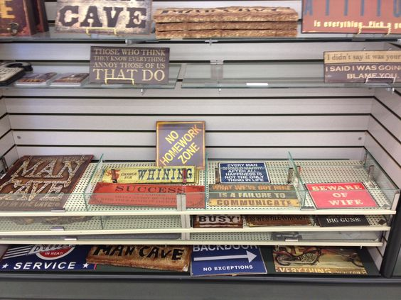 Man Cave Signs At Hobby Lobby : How have i never been to a hobby lobby man cave signs lobbies