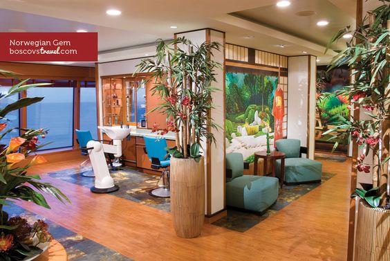 #Norwegian #Gem Yin & Yang Beauty Salon #Travel #Cruise #NCL