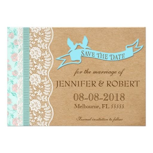 Romantic Lacey Dreams With Flowers Personalized Invites