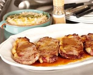 FLASH FRIED STEAK WITH WHITE BEAN MASH | Fried and True ! | Pinterest ...