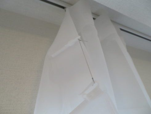 フラットカーテンのピッチキープのやり方について 2020 カーテン バーチカルブラインド フラット