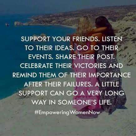 Definetly! I'm so lucky to have a supportive wonderful group of friends ❤️