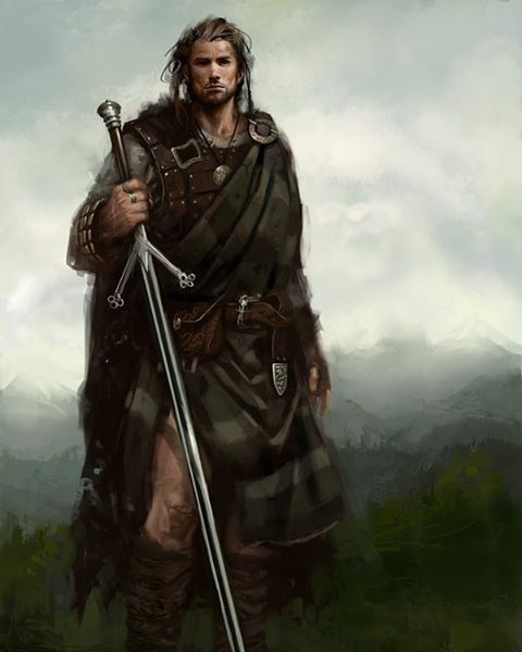 Fantasy Art Scottish
