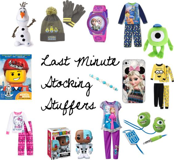 Last minute stocking stuffers for the kids