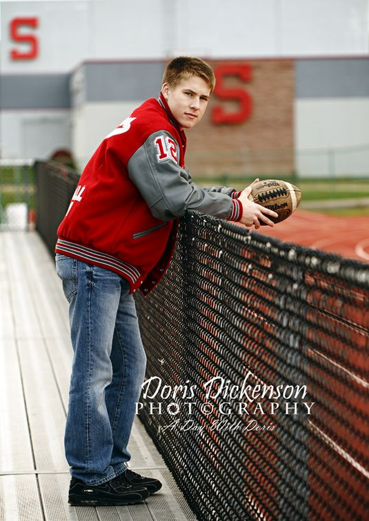 HS Senior   Pose Football Male www.facebook.com/adaywithdorisphotography Doris Dickenson Photography, Goldsboro NC