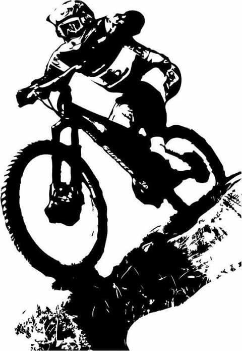 Mtbstickers Bike Tattoos Mountain Bike Tattoo Cycling Tattoo