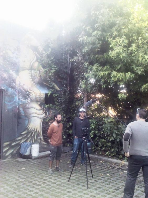 Entrevista para canal 30 R.Franco & Areúz GraffitiWorld