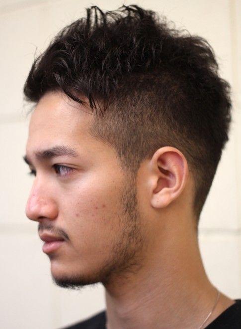 くせ毛生かした簡単メンズ刈り上げショート 髪型メンズ ビューティー