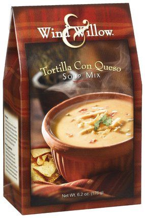 Wind and Willow Tortilla con Queso Soup is just the right mix of southwest…