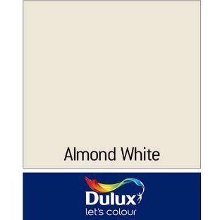 Dulux Endurance Matt Emulsion Paint - Almond White - 5L from Homebase.co.ukcontrast with Overtly Olive?