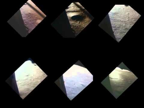 Les six alunissages en même temps