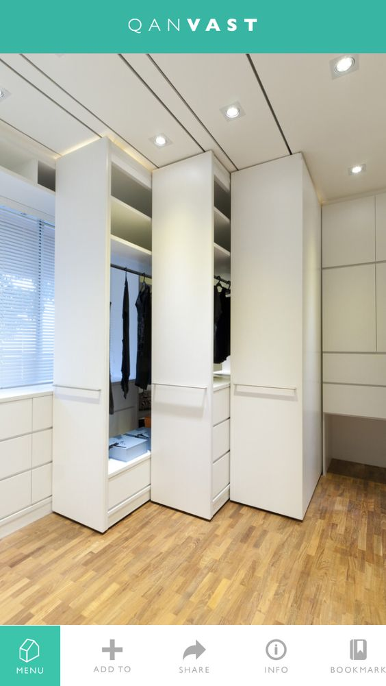 Wardrobe Partition: Ideas For Movable Partition!