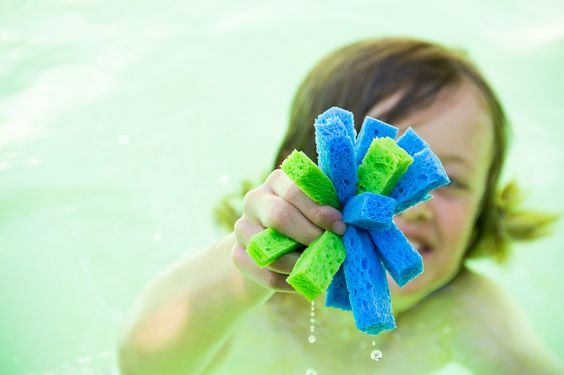 Sun's Out. Fun's Out! Cool down this weekend with this easy DIY water soaker your kids will love.