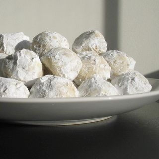 Russian Tea Cakes. Emeril's recipe is the BEST! Bake for 17-18 minutes instead of 20. Perfection!