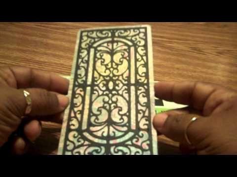 Cricut Ornamental Iron Cards
