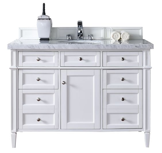 white cottage single girls #1 get 44% off - deleon 48 single cottage white marble top bathroom vanity set by darby home co - order find cheap deleon 48 single cottage white.