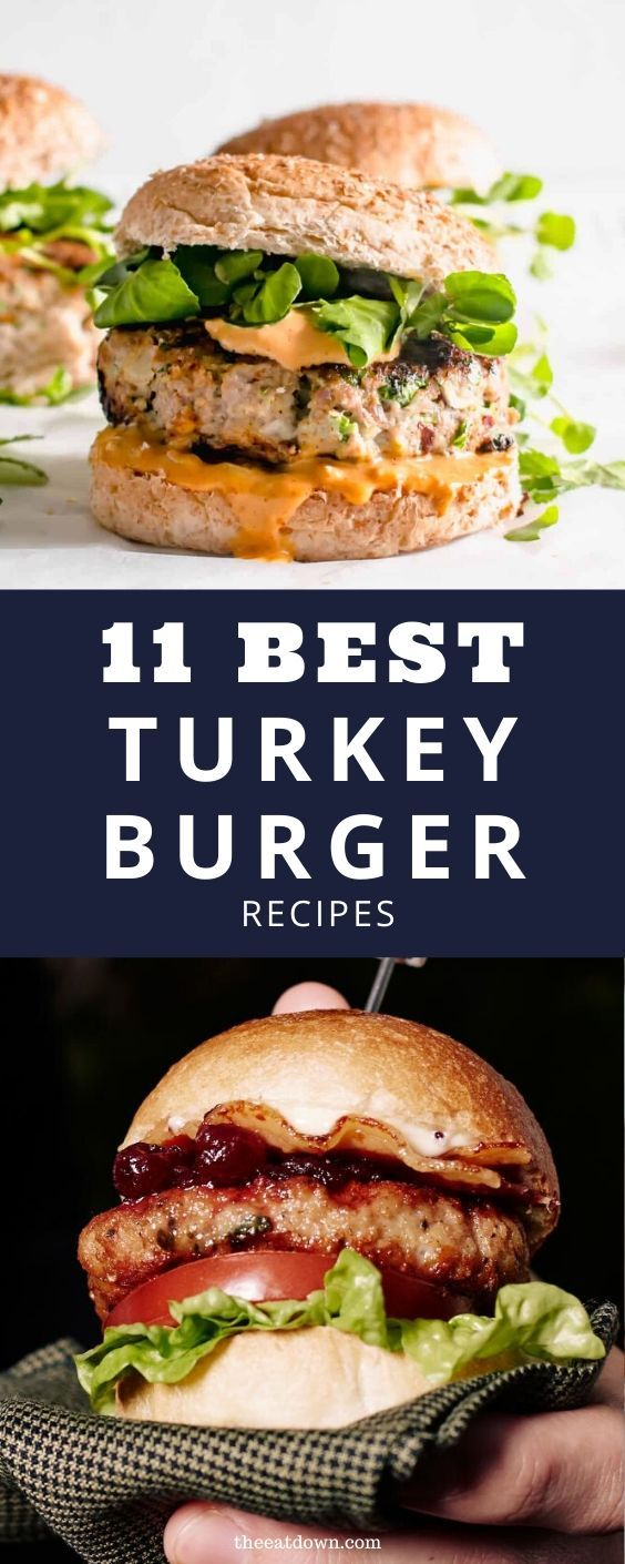 11 Best Turkey Burger Recipes