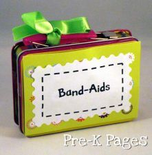 Band Aid Storage: Lunch Boxes, Storage Boxes, Preschool Ideas, Band Aid, Classroom Storage, Classroom Ideas, Storage Ideas