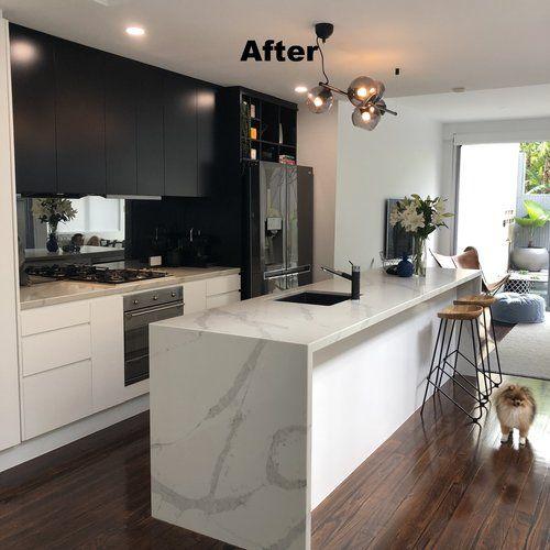 Modern Image Resurfacing Kitchen Makeover Modern Home Decor