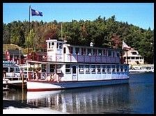 Lake Sunapee Cruises - MV Mt. Sunapee II - Sunapee Harbor, NH