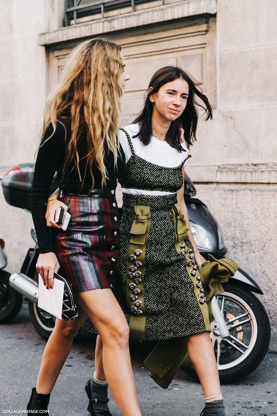 Milan Fashion Week, Street Style Natasha Goldenberg #streetstyle #fashion