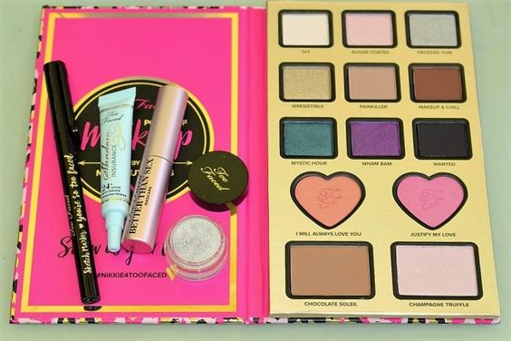Too Faced Nikkie Tutorials Power of Makeup Set Review & Swatches