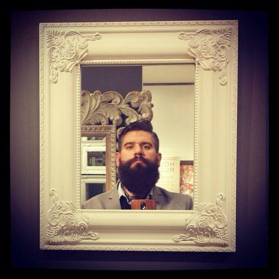 A shameless #selfie #beard #beardlife #beardlove #beard #beardoil #beardy #beardeddad #dapper #dapperbeard #beardmaniac #beardandtats #beardporn #beardgang #beardfriends #bearded #beardedgent #beardedbrotherhood #mirror #reflection