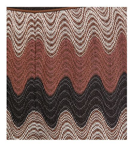 MISSONI Straight-leg knitted trousers (Brown