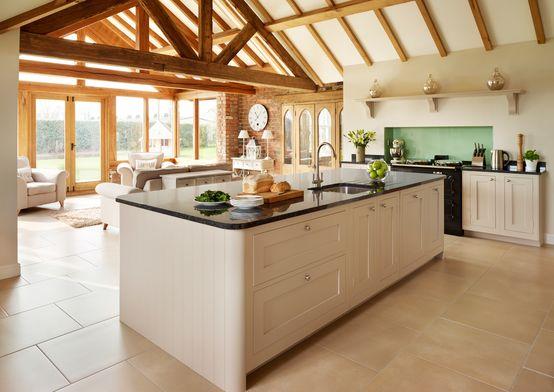 La cucina all\'americana | Cucina shaker, Progetti di cucine ...