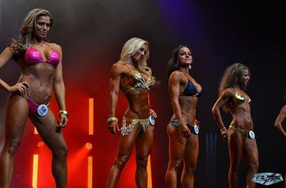 Gold bikini worlds largest and bodybuilding on pinterest