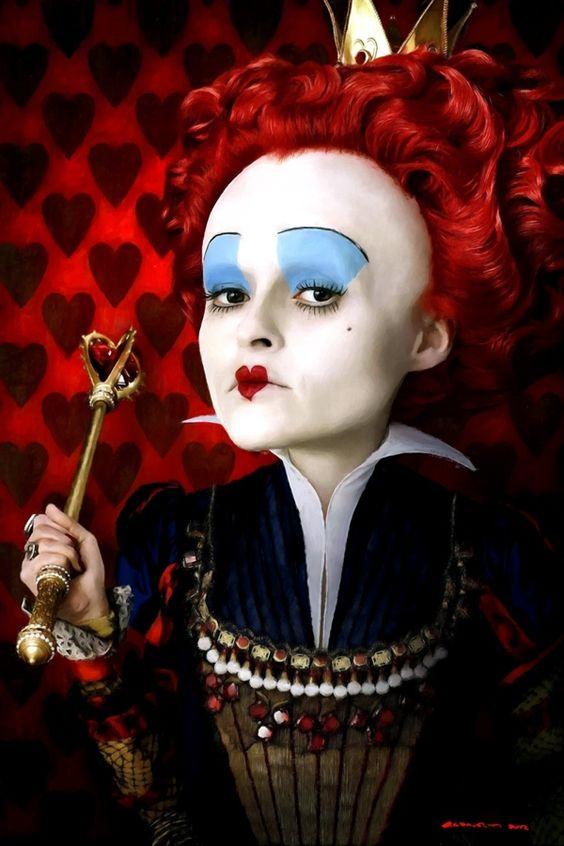 The Red Queen in the film Alice In Wonderland by Gabriel T Toro, via Behance