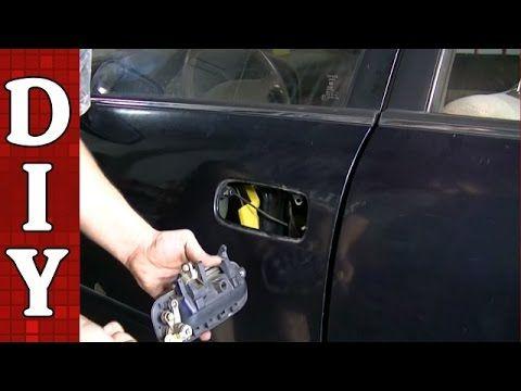 How To Remove And Replace A Broken Exterior Door Handle Toyota Camry Youtube Exterior Door Handles Door Handles Exterior Doors
