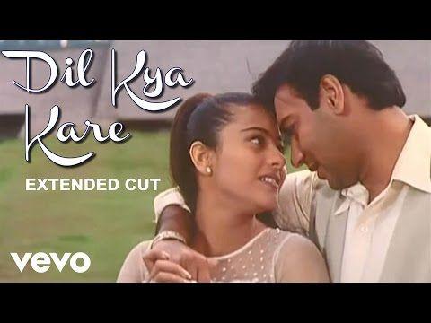 Dil Kya Kare Title Track Video Ajay Devgan Kajol Youtube Video