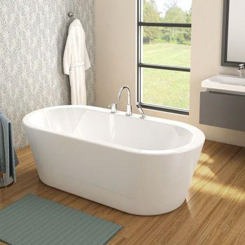 bain autoportant avec robinetterie standard id es d co