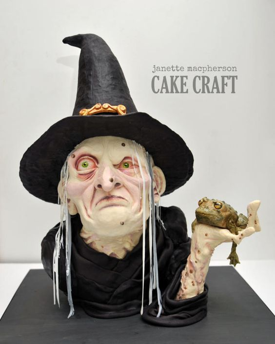 Witch for Cake & Bake Show 2014 - Cake by Janette MacPherson Cake Craft | CakesDecor.com: