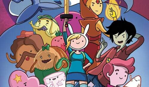 I love Adventure Time especially when it is fionna and cake