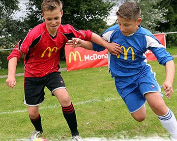 McDonald's commits to UK football kit scheme for next three seasons